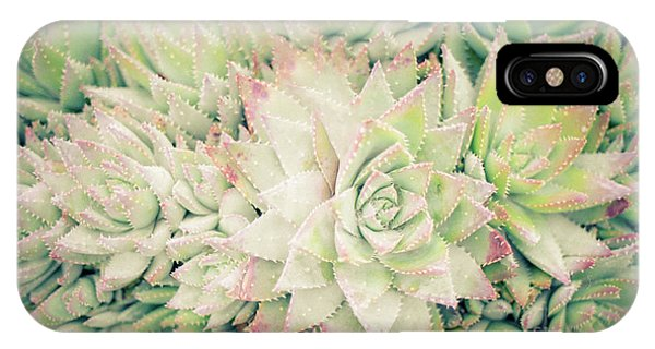 Blanket Of Succulents IPhone Case
