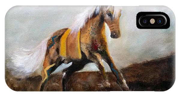 Blanket The War Pony IPhone Case
