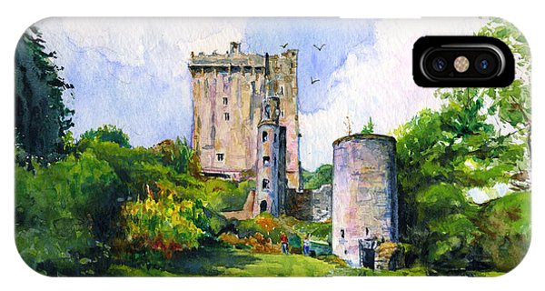 Blarney Castle Landscape IPhone Case