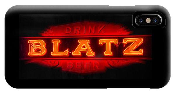 Blatz Beer  IPhone Case