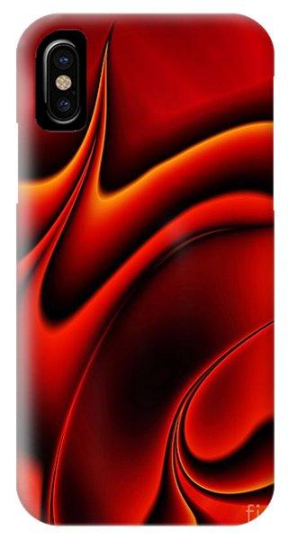 Flammable iPhone Case - Blaze by John Edwards
