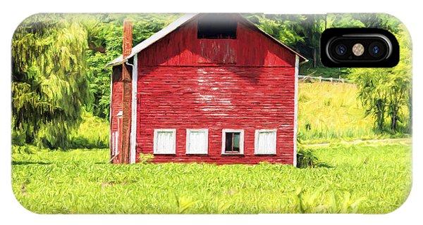 Blazing Barn IPhone Case