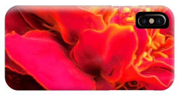 Blazing Pink Marigold IPhone Case