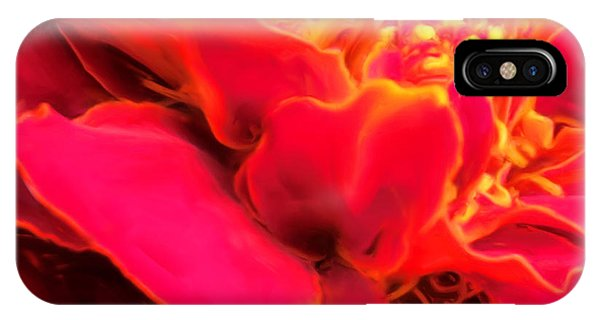 Blazing Pink Marigold IPhone Case