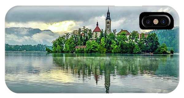 Bled At Sunrise IPhone Case
