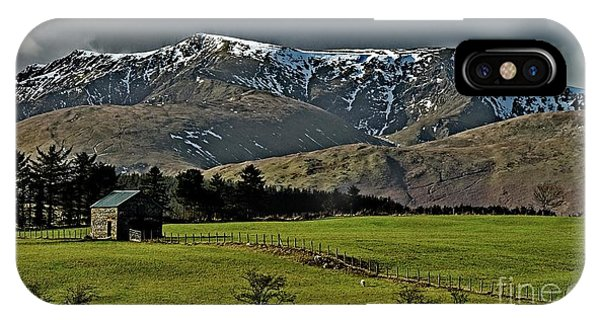 Blencathra Mountain, Lake District IPhone Case