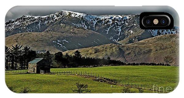 Blencathra Mountain, Lake District IPhone Case
