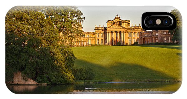 IPhone Case featuring the photograph Blenheim Palace And Lake by Jeremy Hayden