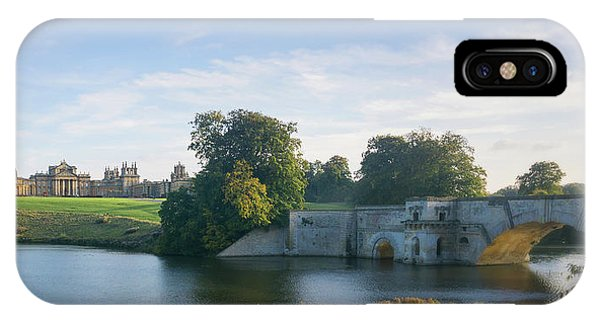IPhone Case featuring the photograph Blenheim Palace by Joe Winkler
