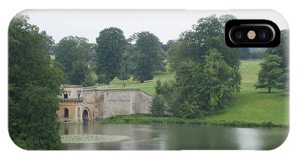 Blenheim Palace Lake IPhone Case