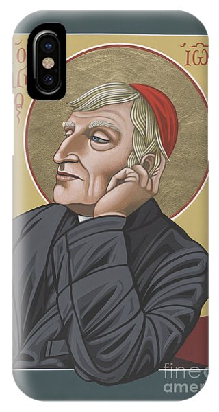 Blessed Cardinal John Henry Newman 221 IPhone Case