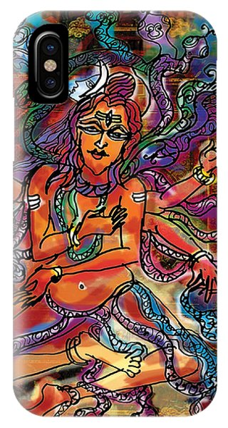 Blessing Shiva IPhone Case
