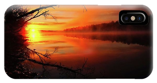 Blind River Sunrise IPhone Case