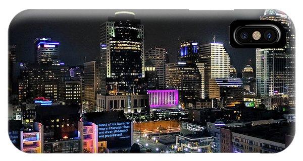 Blink Cincinnati - Skyline  IPhone Case