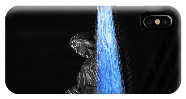 Blink Cincinnati - Tyler Davidson Fountain On Fountain Square IPhone Case