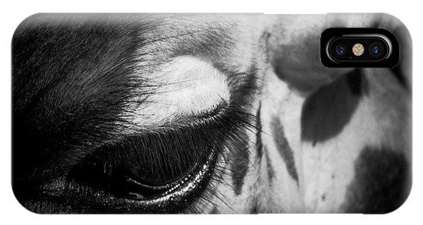 Blink Of An Eye IPhone Case