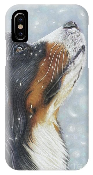 IPhone Case featuring the painting Blissful Blue  by Donna Mulley
