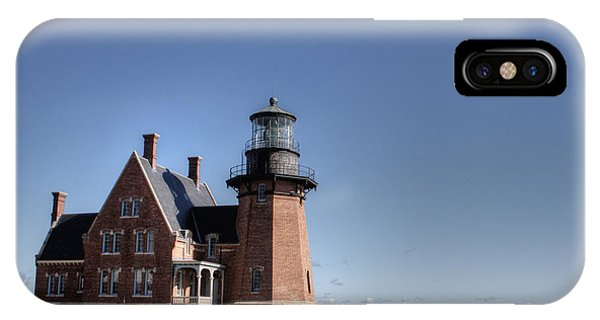 Block Island  Southeast Light IPhone Case