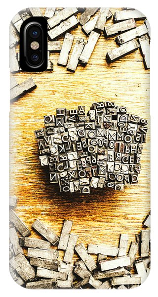 Poetry iPhone Case - Block Of Communication by Jorgo Photography - Wall Art Gallery