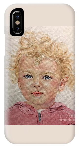Blonde Girl IPhone Case