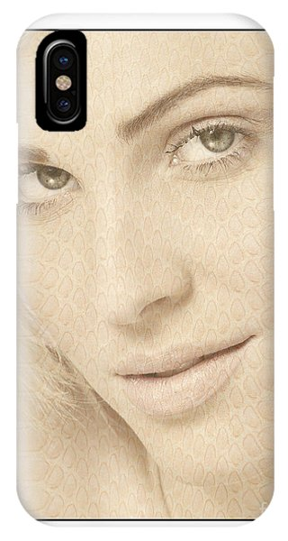 Blonde Girl's Face IPhone Case
