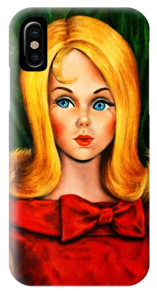 Blonde Marlo Flip Tnt Barbie IPhone Case