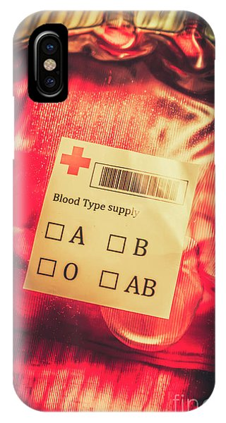 Zombies iPhone Case - Blood Donation Bag by Jorgo Photography - Wall Art Gallery