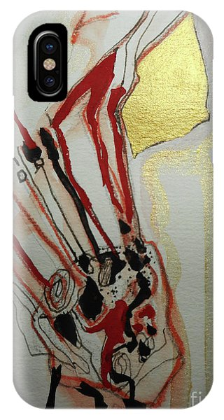 Blood Flowers IPhone Case