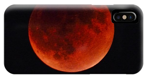 Blood Moon #4 Of Tetrad, Without Location Label IPhone Case