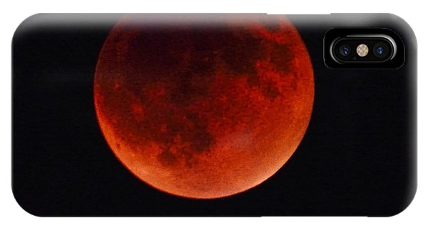 Blood Moon #4 Of 2014-2015 Tetrad IPhone Case