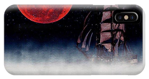 iPhone Case - Blood Moon by Blair Stuart