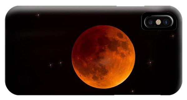 Blood Moon Lunar Eclipse 2015 IPhone Case