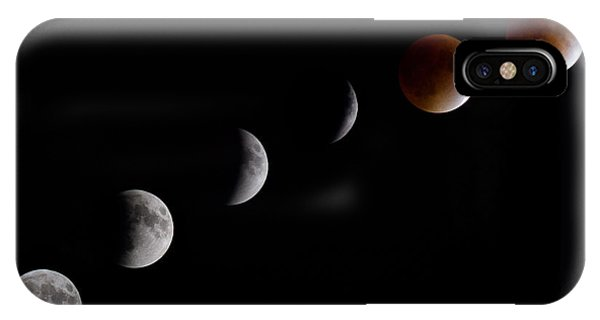 Blood Moon Lunar Eclipse IPhone Case