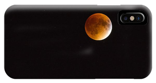 Blood Moon Luna Eclipse IPhone Case