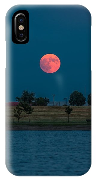 Blood Moon Rising IPhone Case