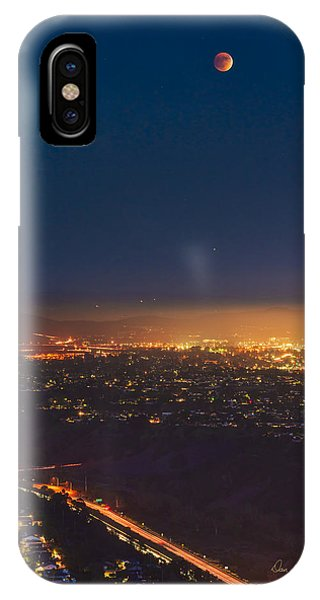 Blood Moon San Diego IPhone Case