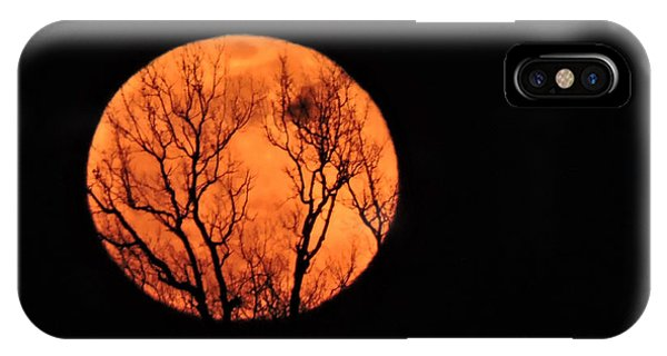 Blood Red Moon IPhone Case