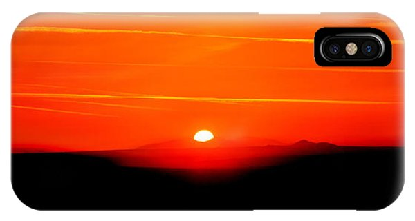 Zombies iPhone Case - Blood Red Sunset by Az Jackson