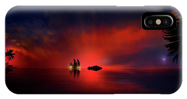 Blood Twilight IPhone Case