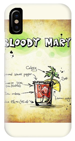 Bloody Mary IPhone Case