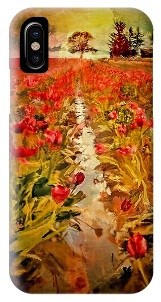 Bloomin Tulips IPhone Case