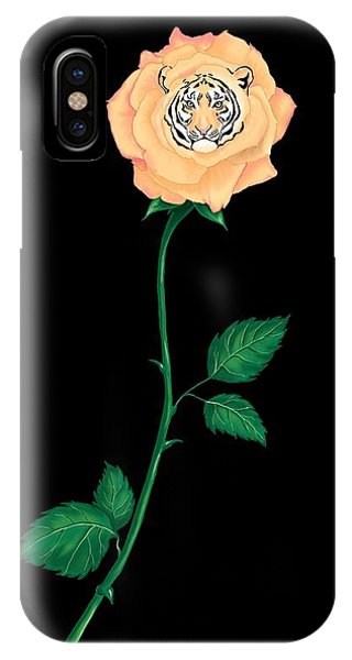 Blooming Bengal IPhone Case