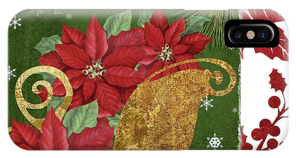 Amaryllis iPhone Case - Blooming Christmas I by Mindy Sommers