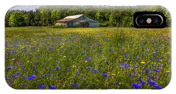 Blooming Country Meadow IPhone Case