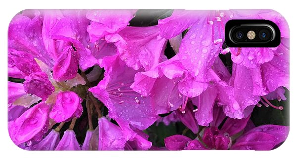 Blooming Rhododendron IPhone Case