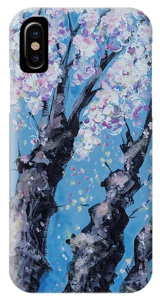 Blooming Trees IPhone Case