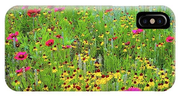 Blooming Wildflowers IPhone Case