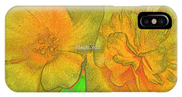 Blooms Yellow IPhone Case
