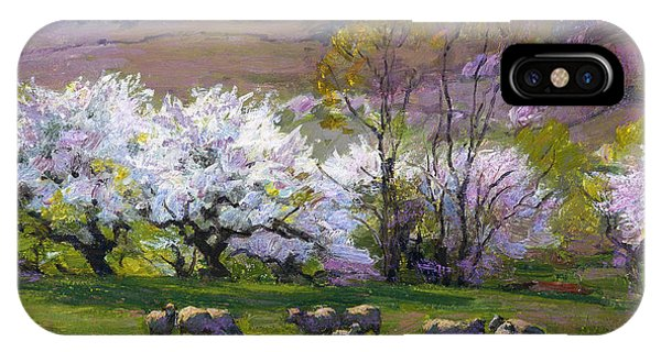 Bucolic iPhone Case - Blossom Time by Edward Henry Potthast