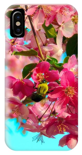 Blossoms And Bees IPhone Case